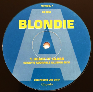 Blondie - Heart Of Glass (Dance Mixes) (Promo) (G-/NM)